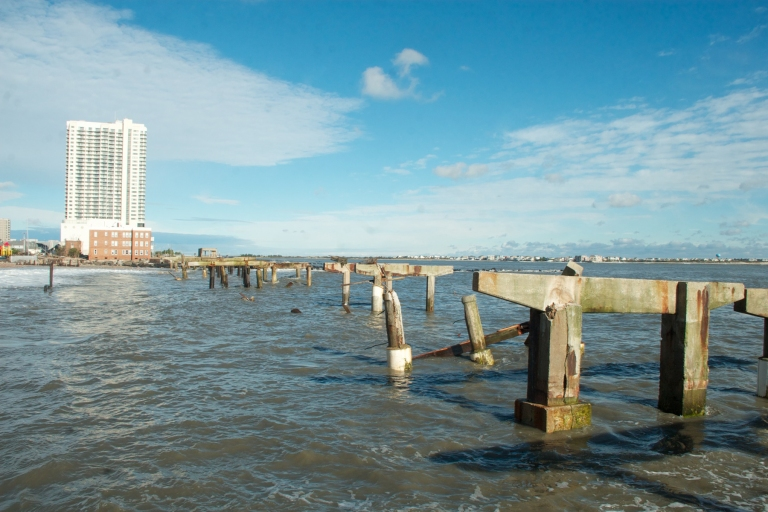 Hurricane Sandy tears up AC Boardwalk