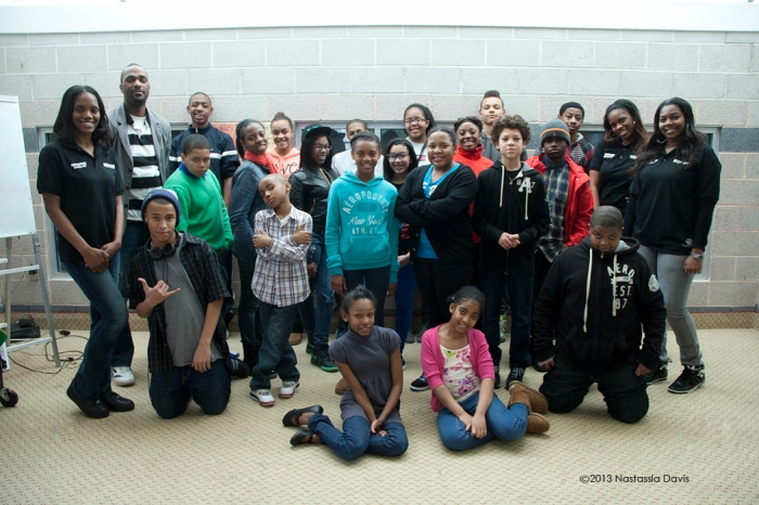 Youth Exposure of AC at The Boys & Girls Club on Saturday, March 3, 2013.