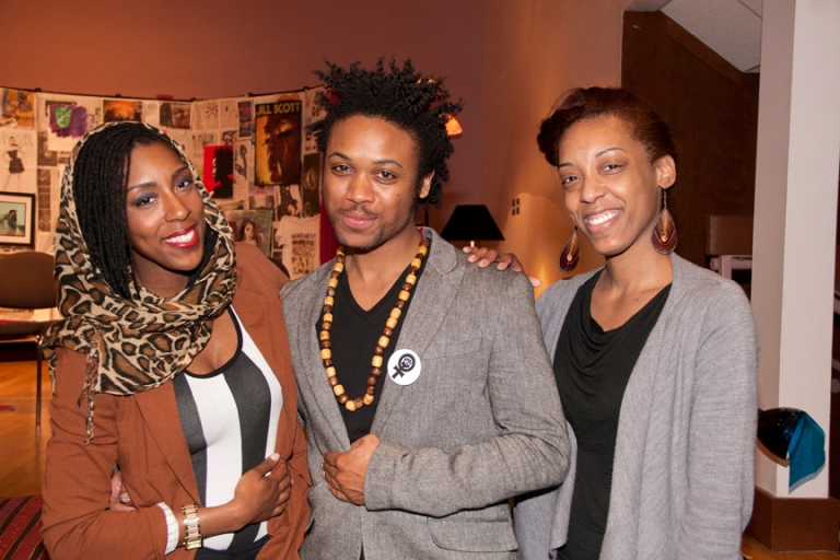 Saul to Paul Dance Ministry's Christina Noble (Choreographer) and Tifaya Noble (Founder) with Director Travis Love.
