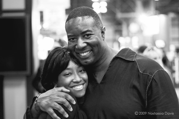 Photographers, Nastassia Davis & Matthew Jordan Smith at PhotoExpo 2009. Javits Center. New York City.