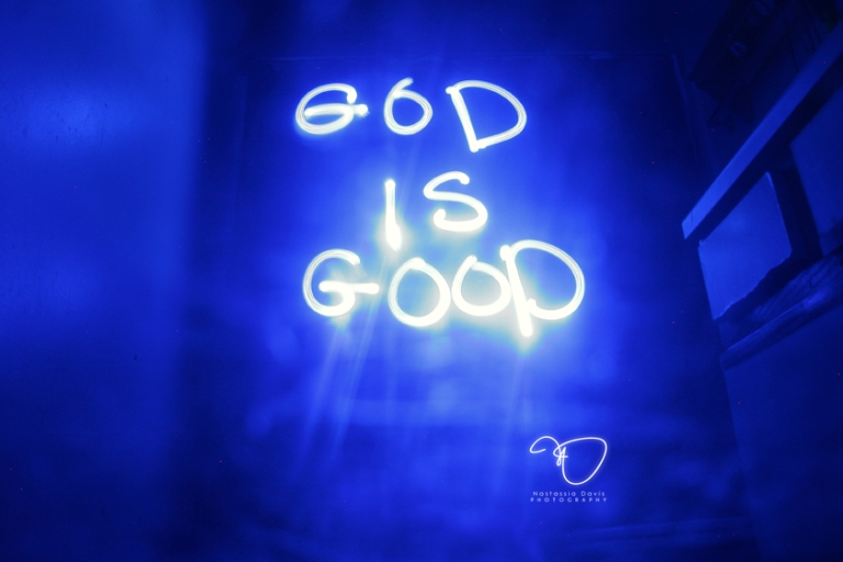 """God is Good"" by Nastassia Davis"