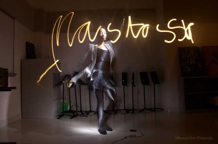"""Nastassia, Light Painter"" by Nastassia Davis"