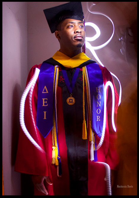 """Graduate with Honors"" by Artist Photographer Nastassia Davis"
